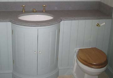 Bespoke bathroom - sinks