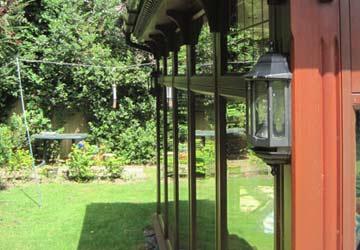 Conservatory - garden view