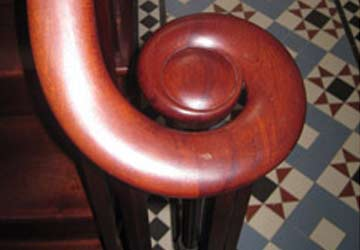 Handrail scroll